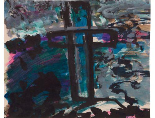 Cross (Suicide Cemetery Grunewald), c. 1957