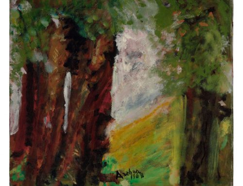 Trees in Hilly Landscape, 1968