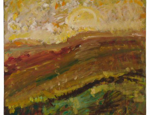 Landscape with Sun, c. 1960