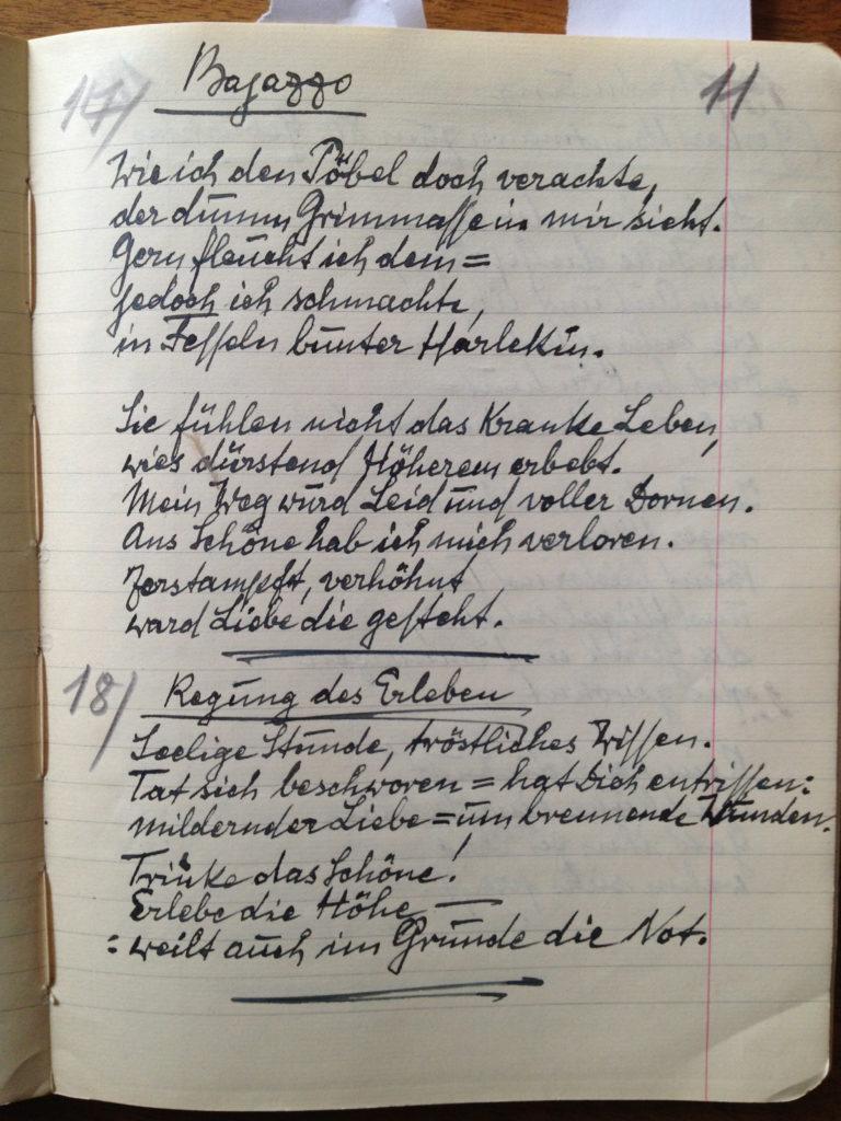 Fritz Ascher Poem