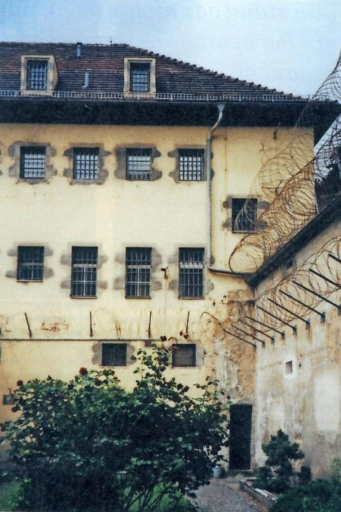 Freistundenhof und Hafthaus. Quelle: Frank-Henry Siemon